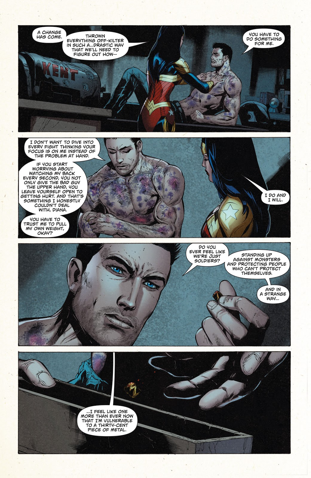 Superman Wonder Woman Dark Truth review