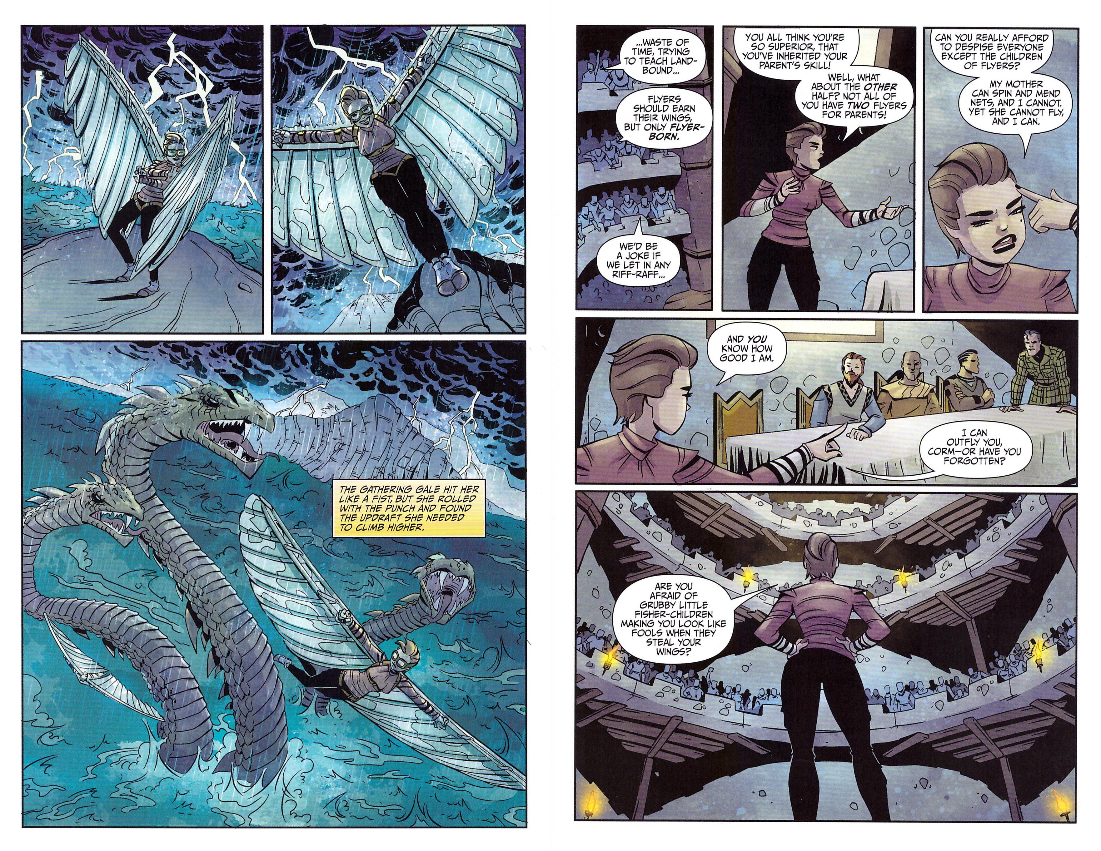 Windhaven graphic novel review