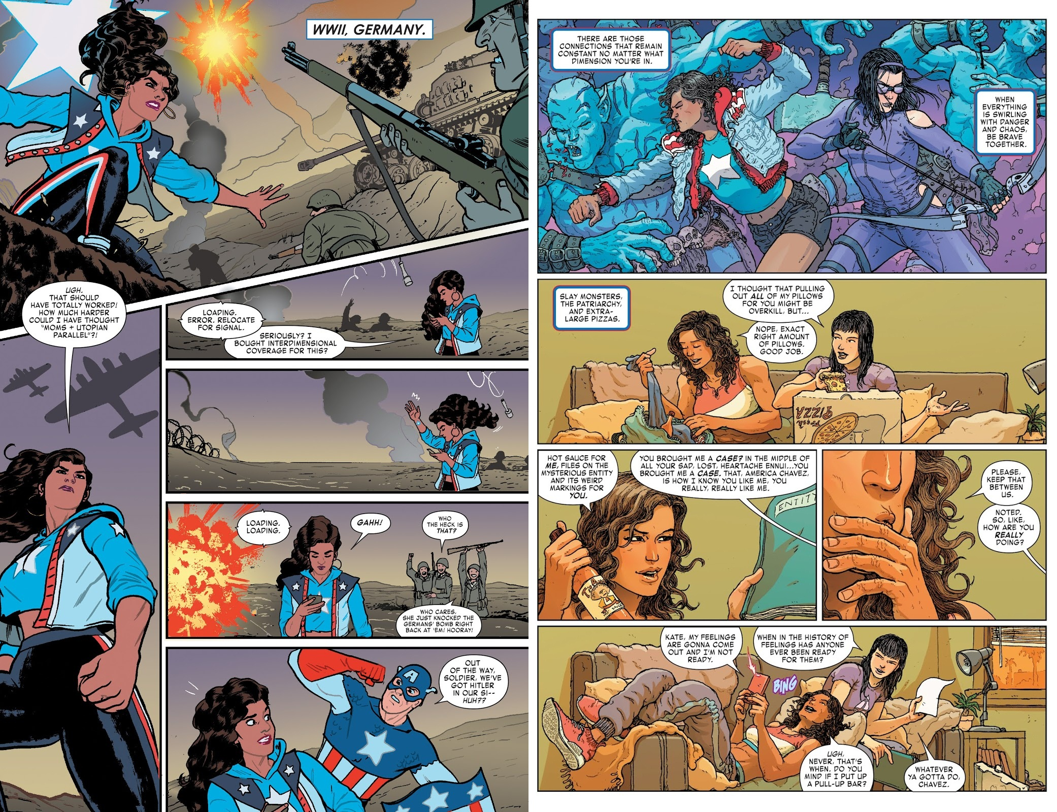 America Life and Times of America Chavez review