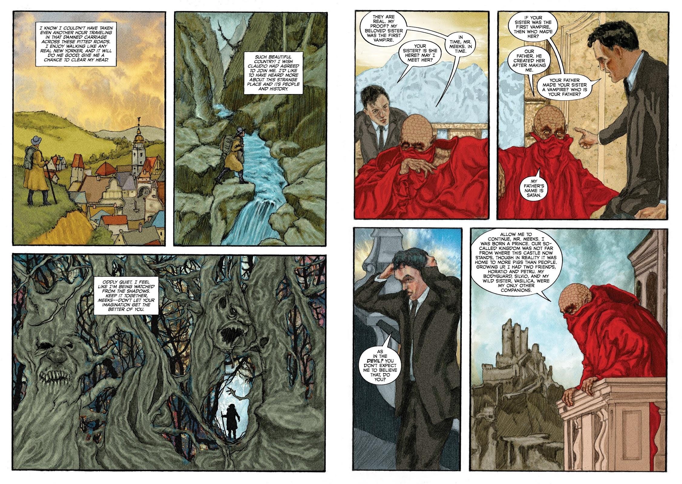 Mammon graphic novel revie