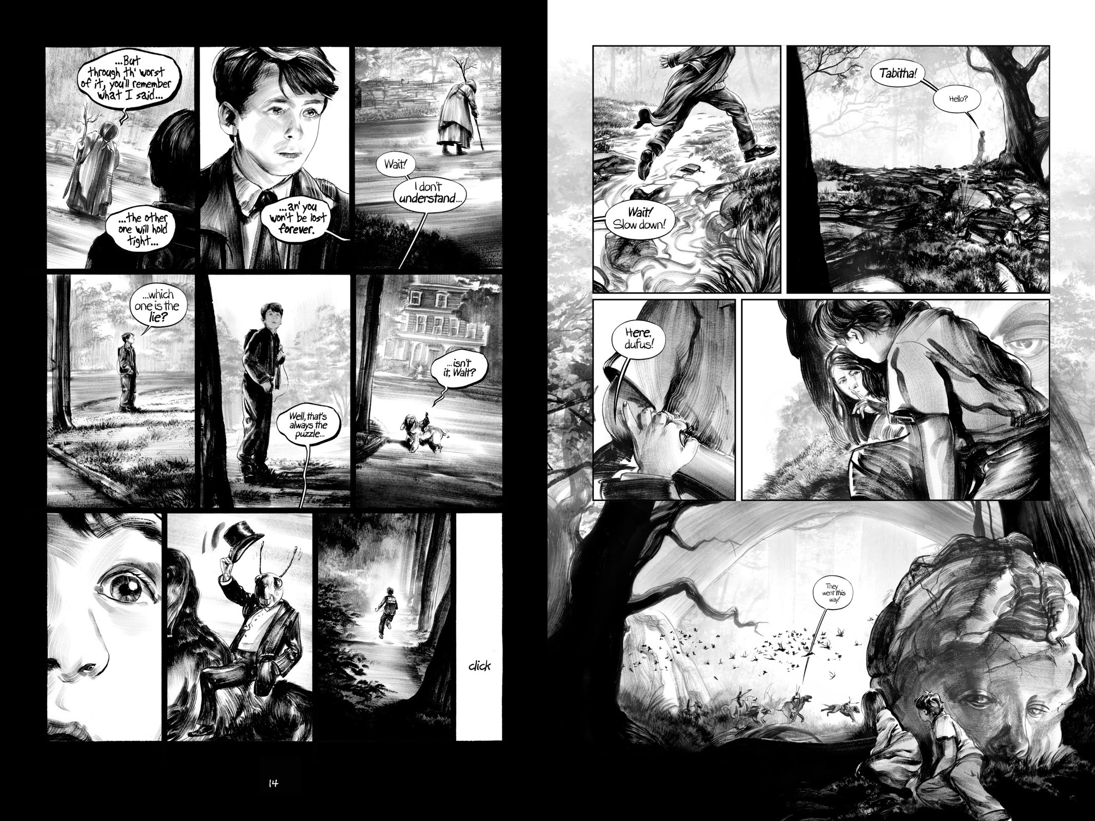 The Lost Boy graphic novel review