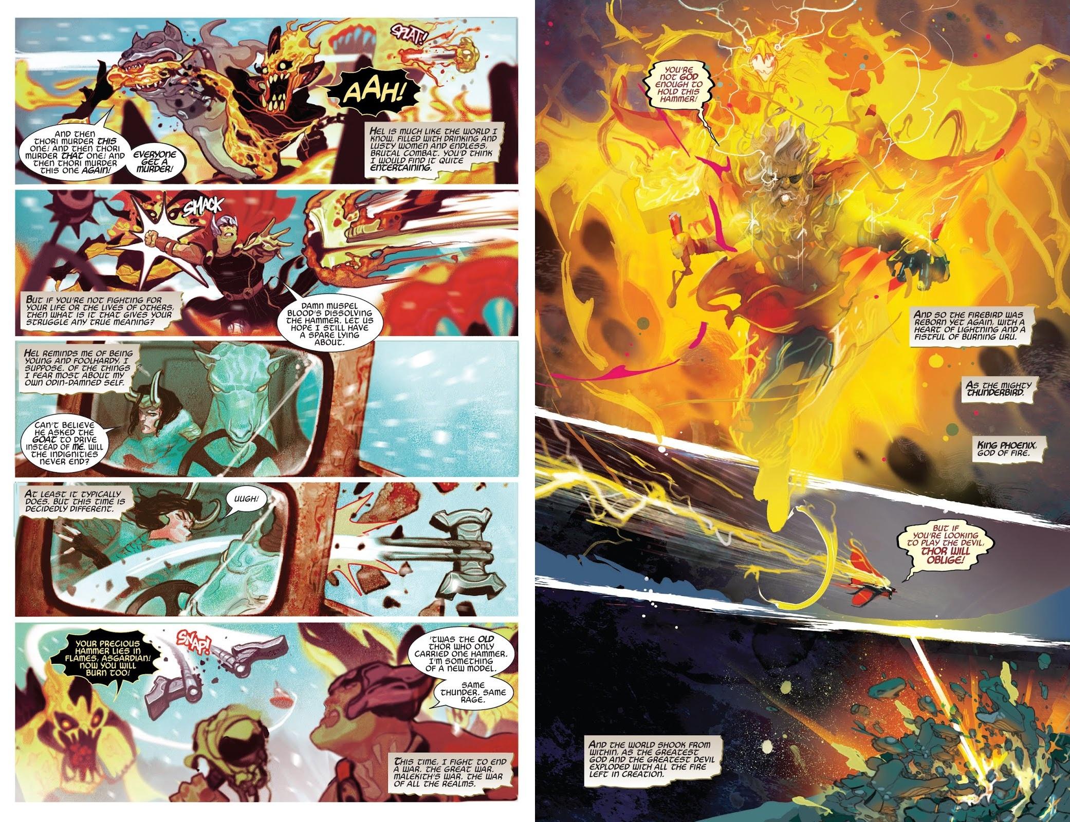 Thor God of Thunder Reborn review