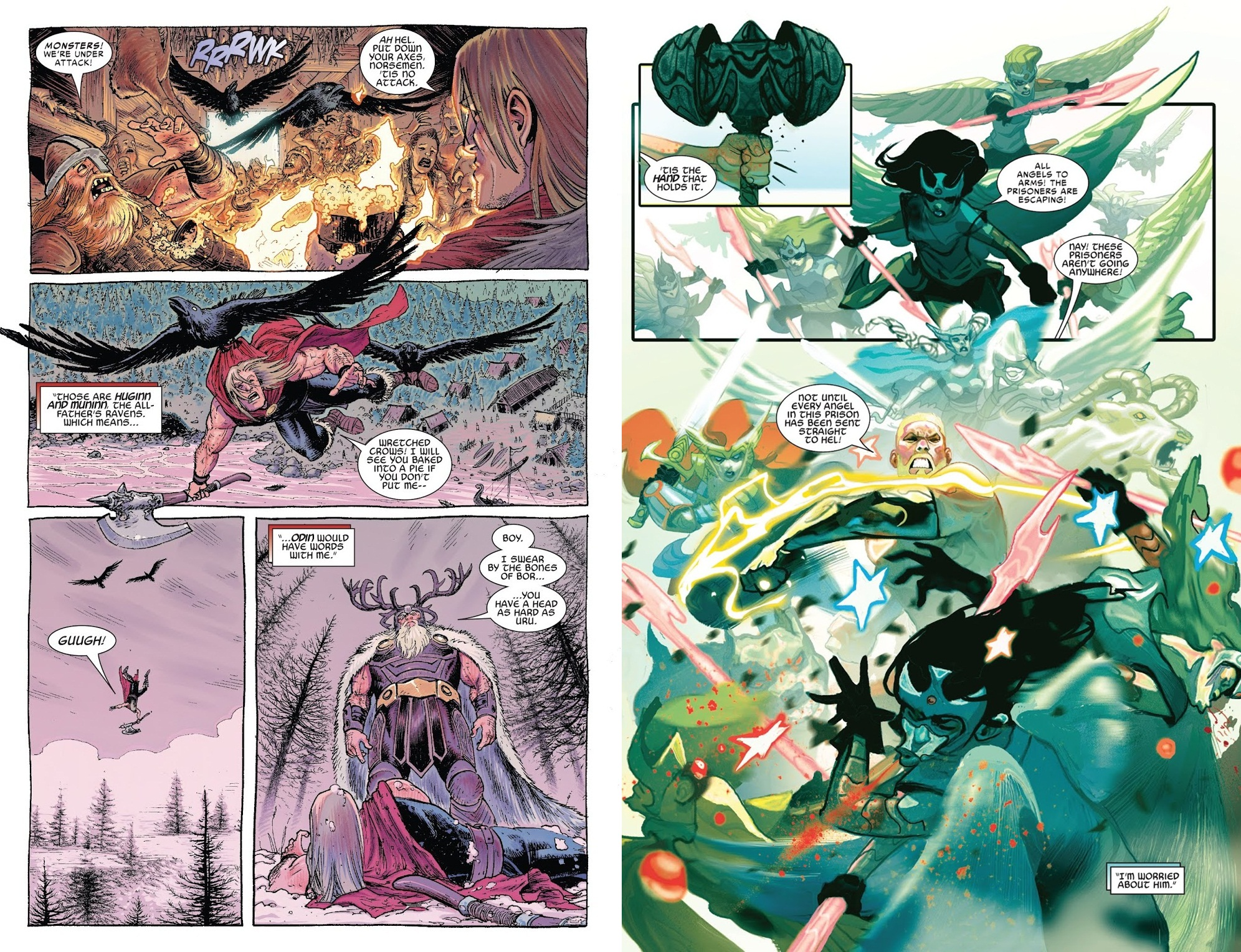 Thor Road to War of the Realms review