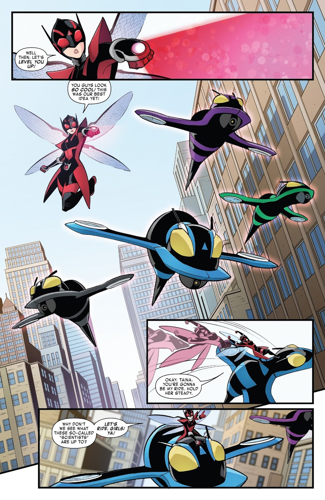 The Unstoppable Wasp Fix Everything review