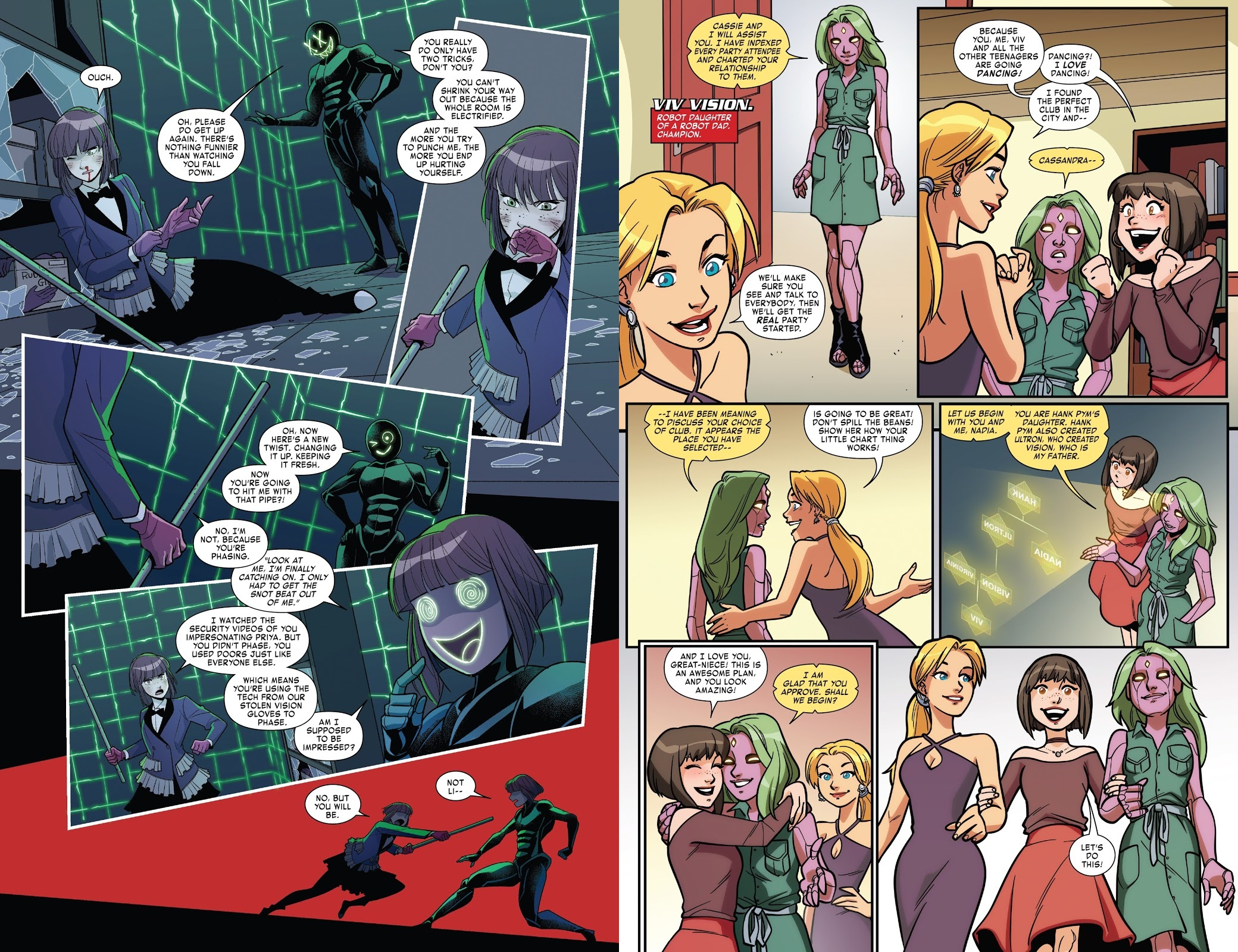 The Unstoppable Wasp G.I.R.L. vs A.I.M review