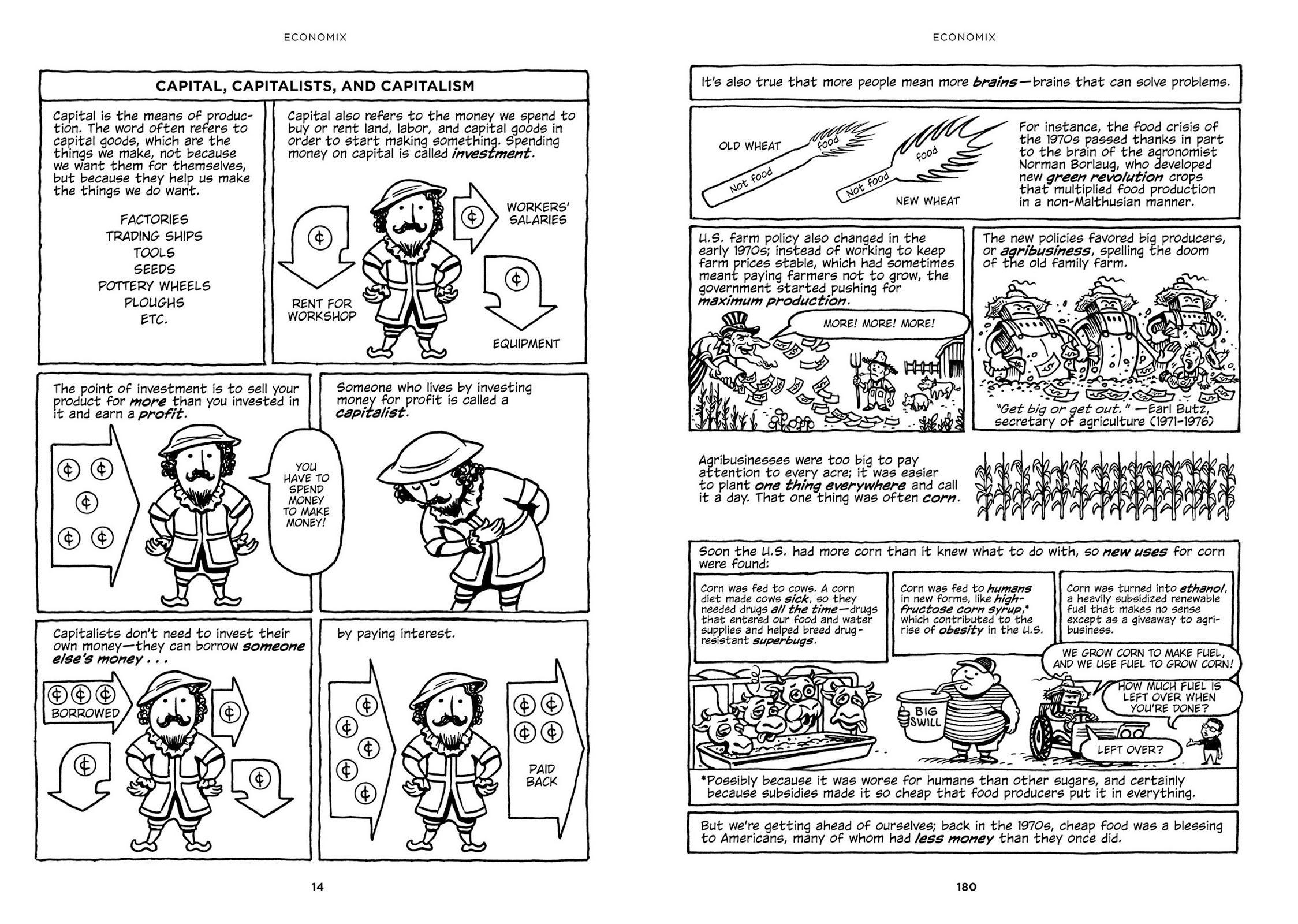 Economix graphic novel review