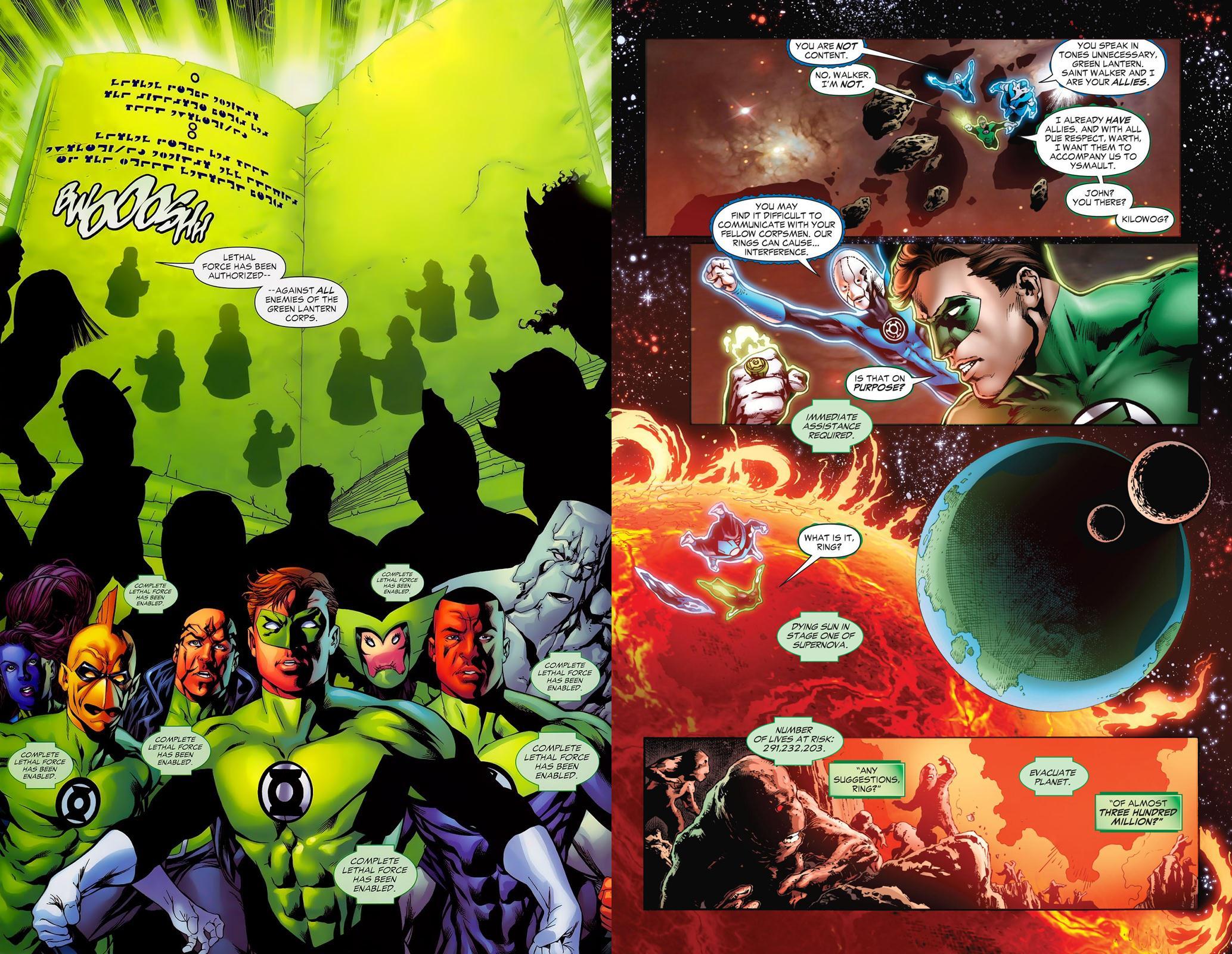 Green Lantern - Rage of the Red Lanterns review