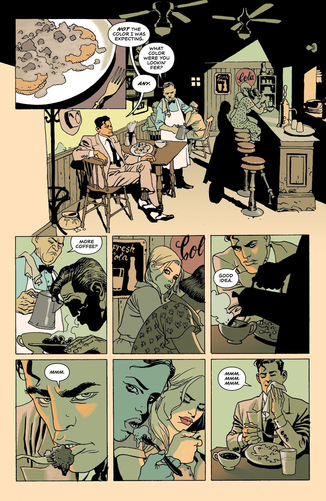 Moonshine graphic novel review