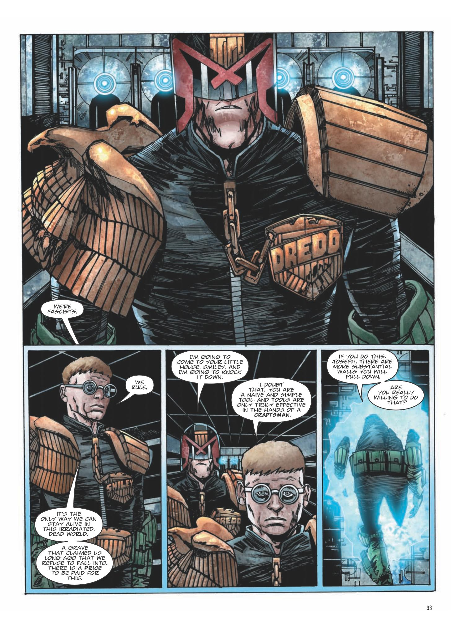 Judge Dredd - The Small House review