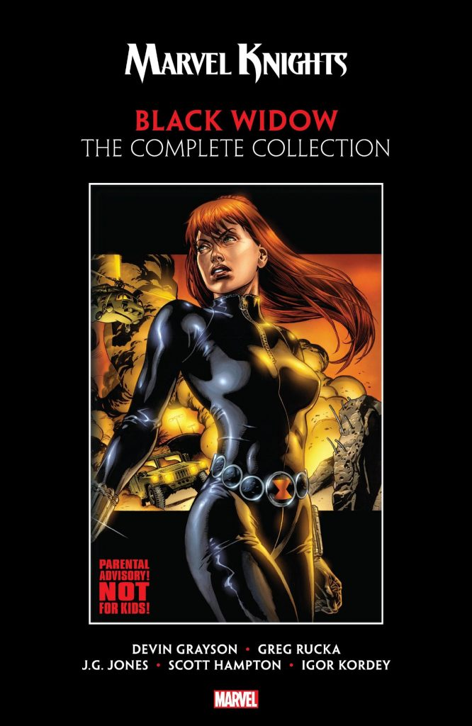 Marvel Knights: Black Widow – The Complete Collection