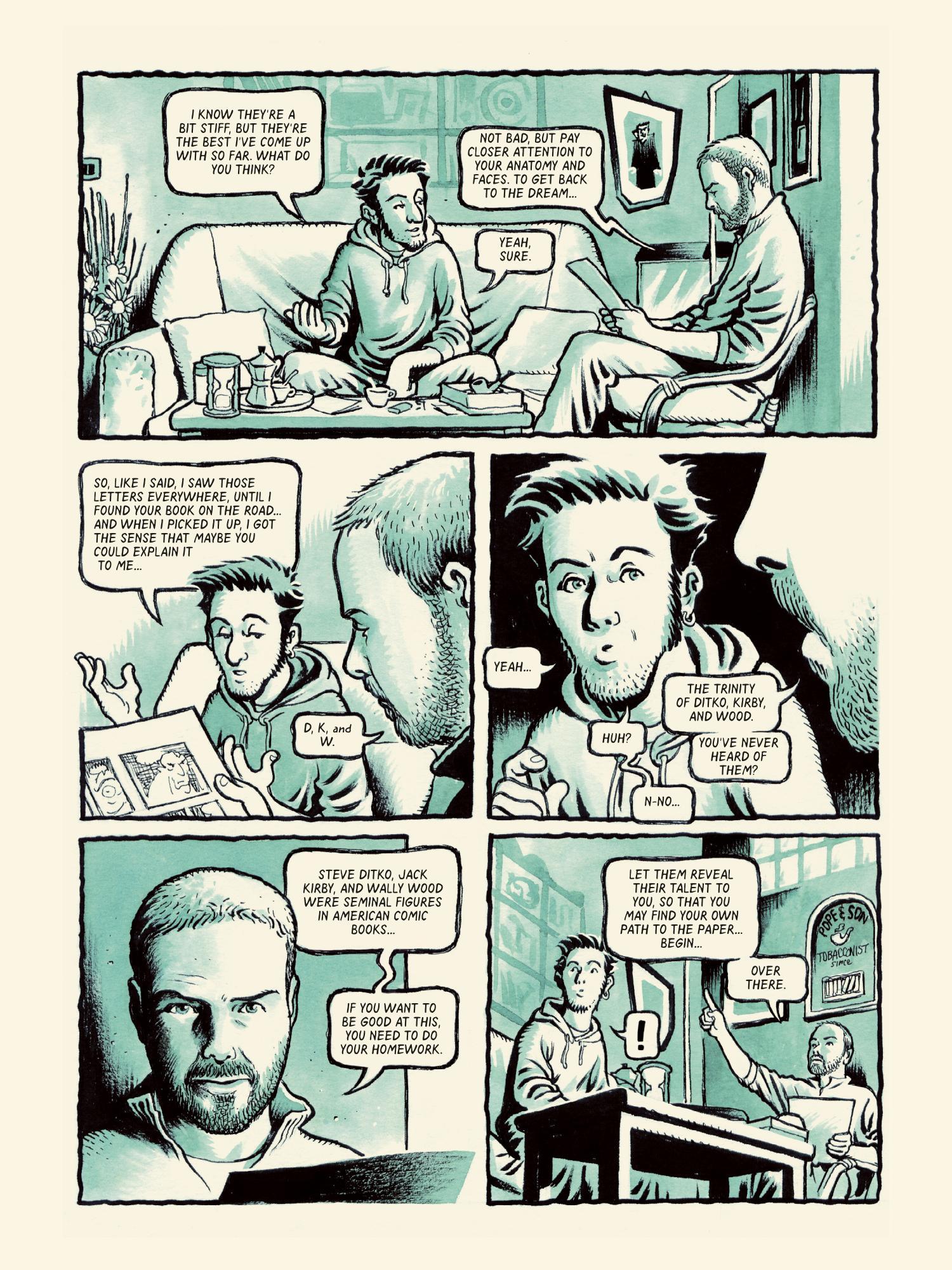 Memorabilia graphic novel review