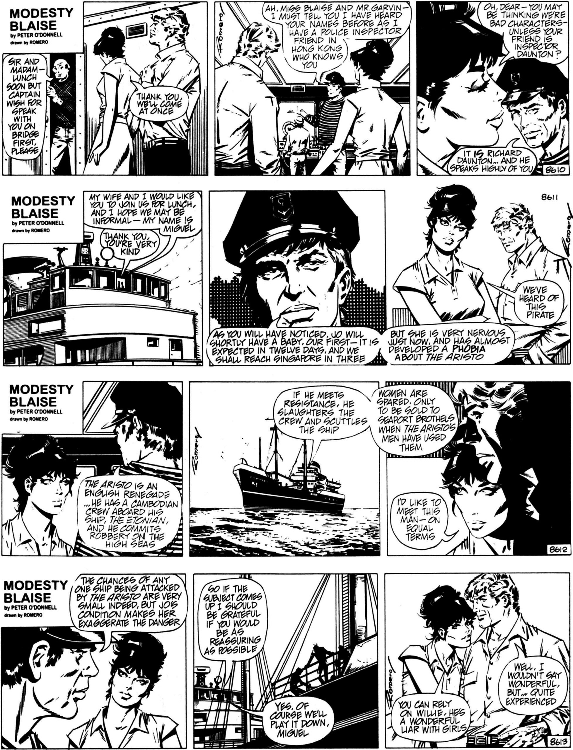 Modesty Blaise The Killing Distance review