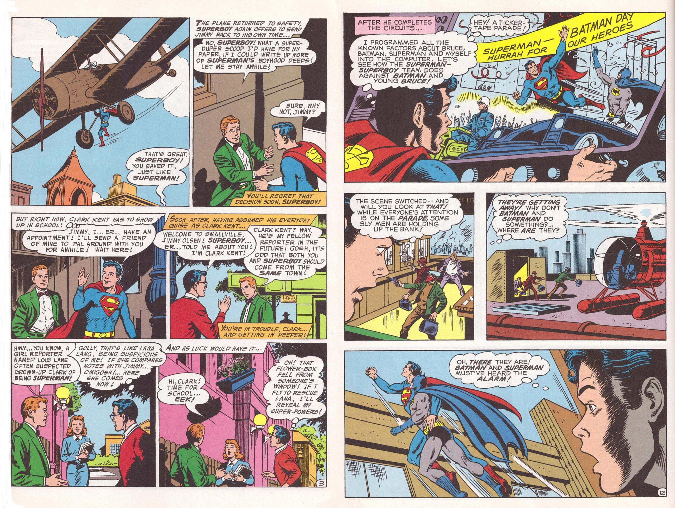 Superboy the Greatest Team-up Stories Ever Told review