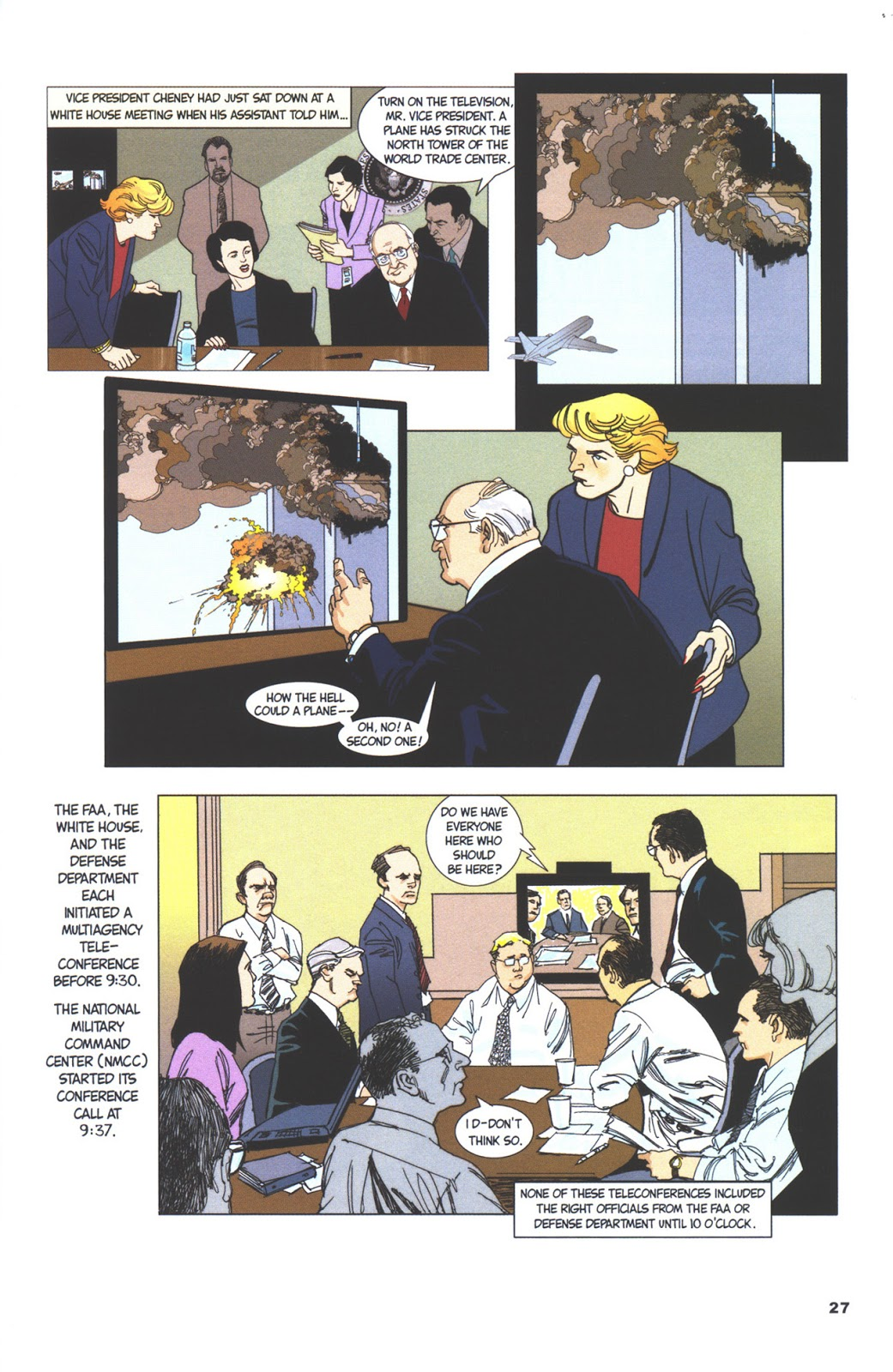 The 9/11 Report A Graphic Adaptation review