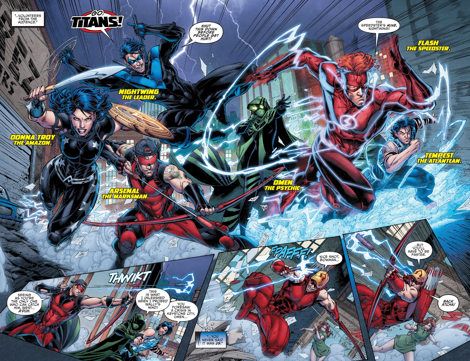 Titans The Return of Wally West review