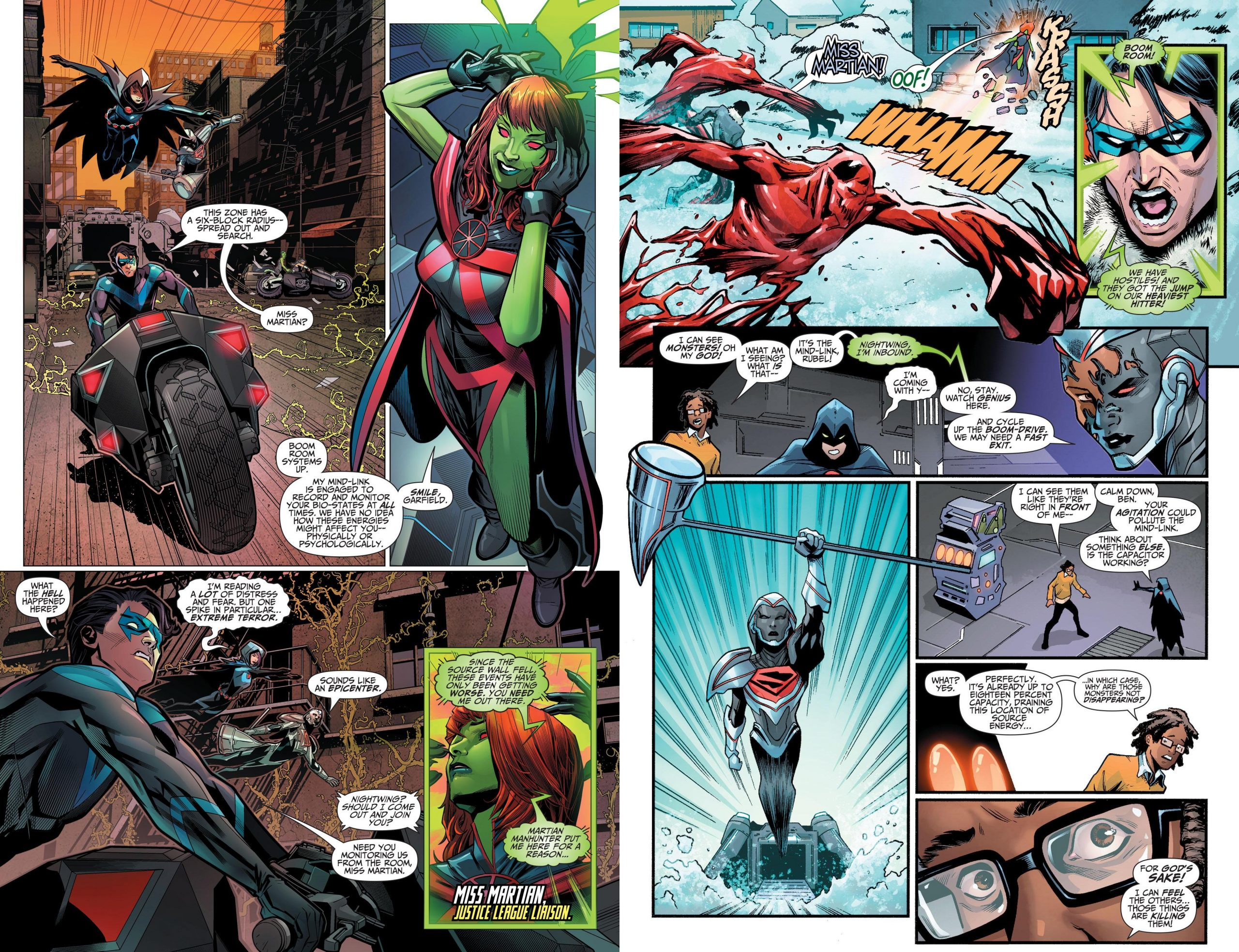 Titans v05 - The Spark review