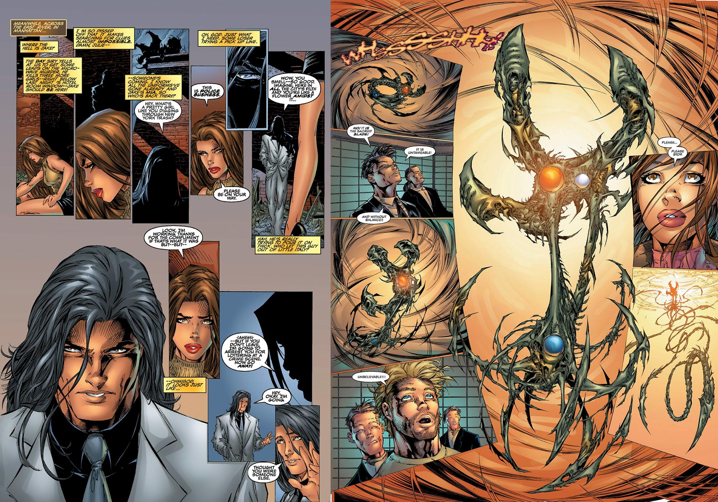 Witchblade Origins review