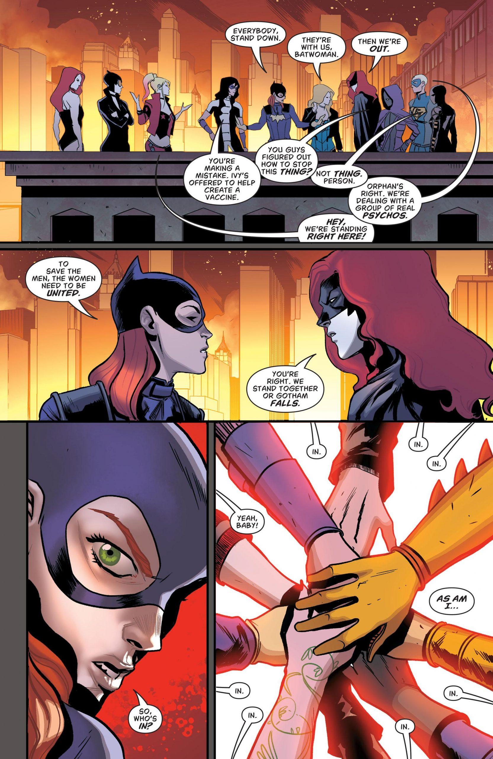 Batgirl and the Birds of Prey - Full Circle V3 review