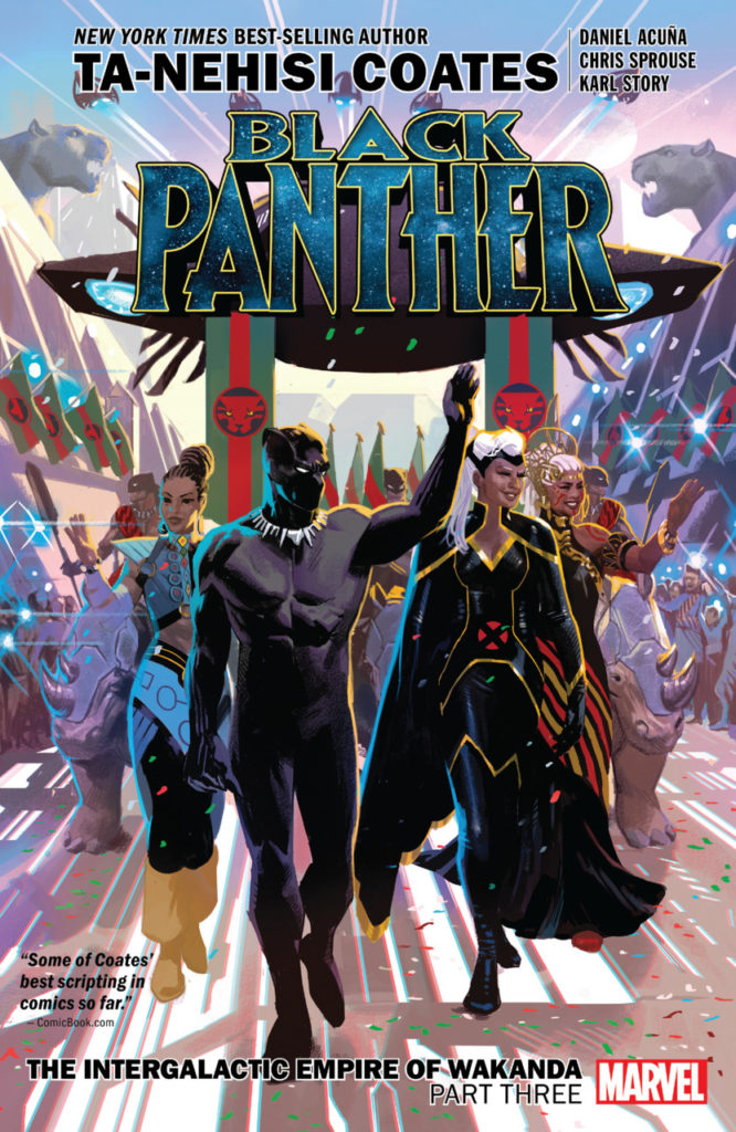 Black Panther: The Intergalactic Empire of Wakanda Part Three