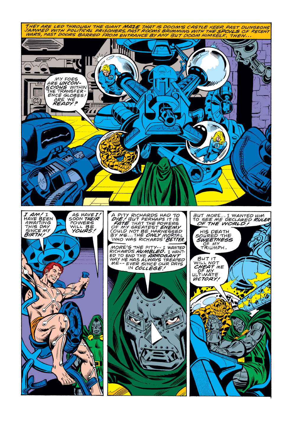 Fantastic Four the Overthrow of Doom review