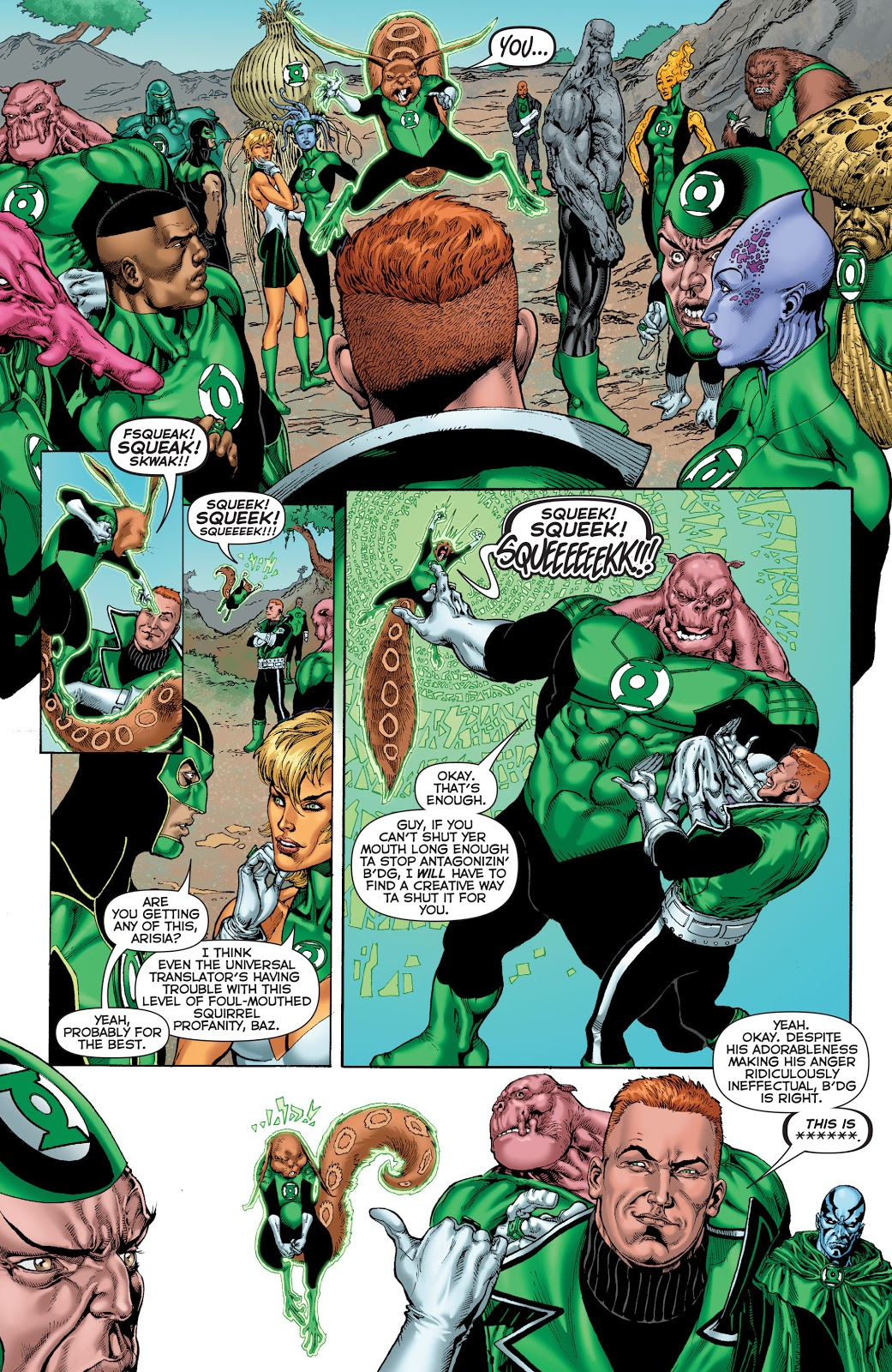 Green Lantern Corps Edge of Oblivion review