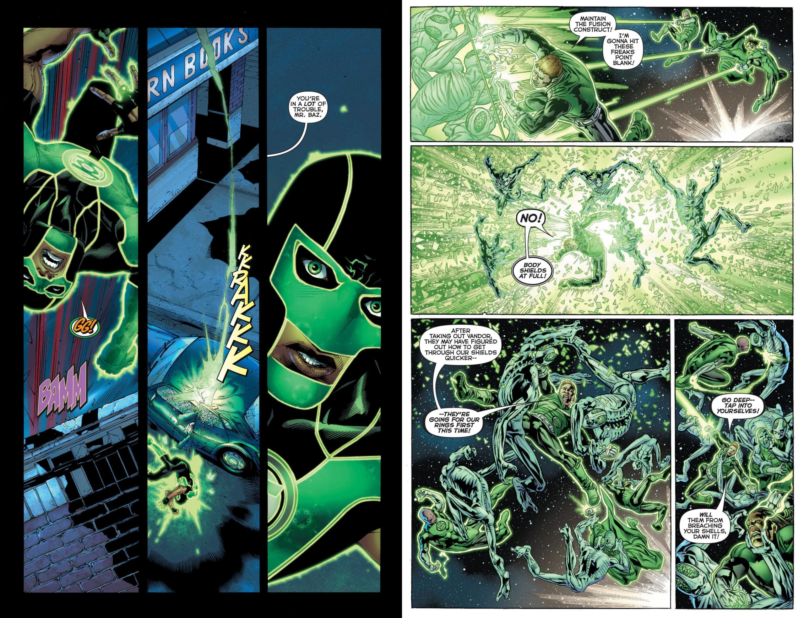 Green Lantern - Rise of the Third Army review