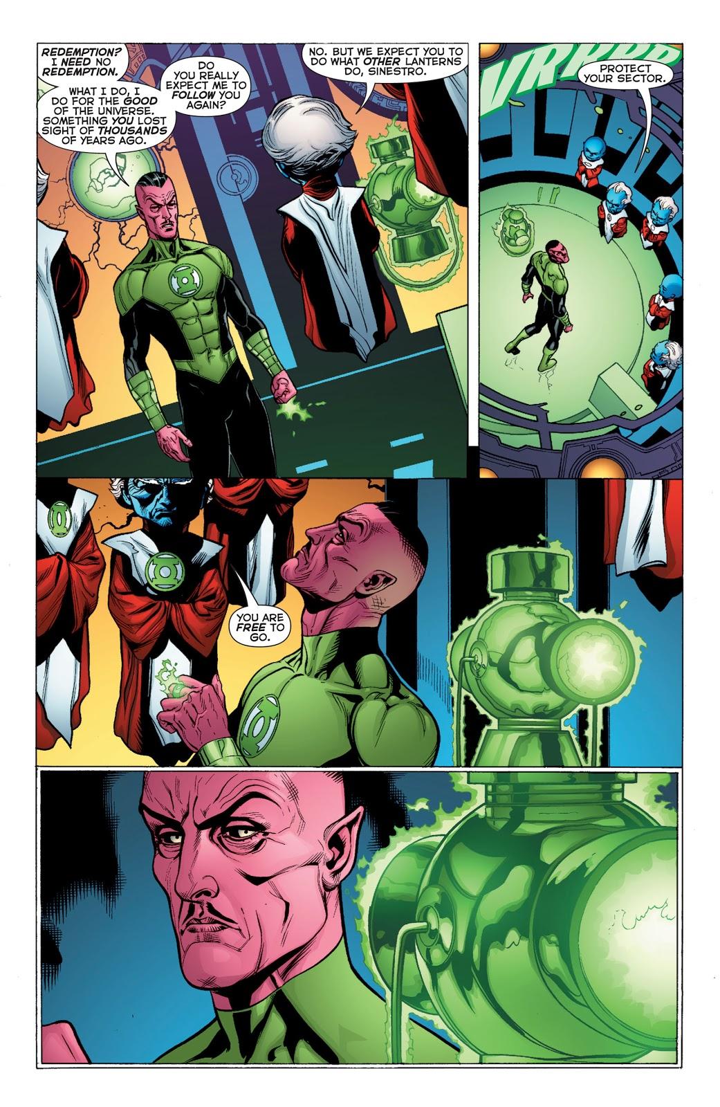 Green Lantern V1 Sinsestro review