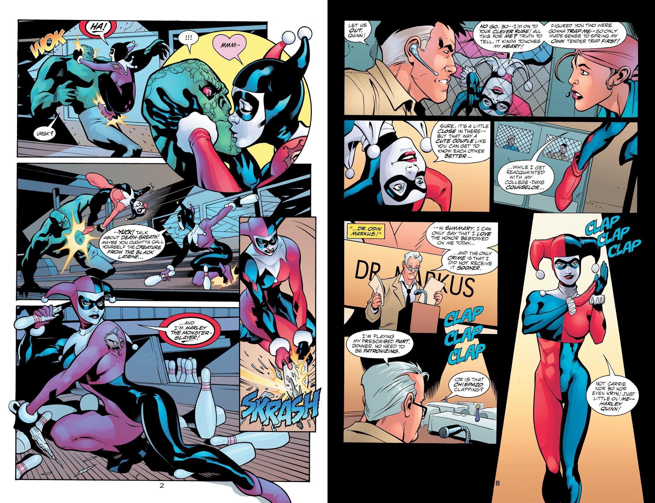 Harley Quinn Night and Day revie