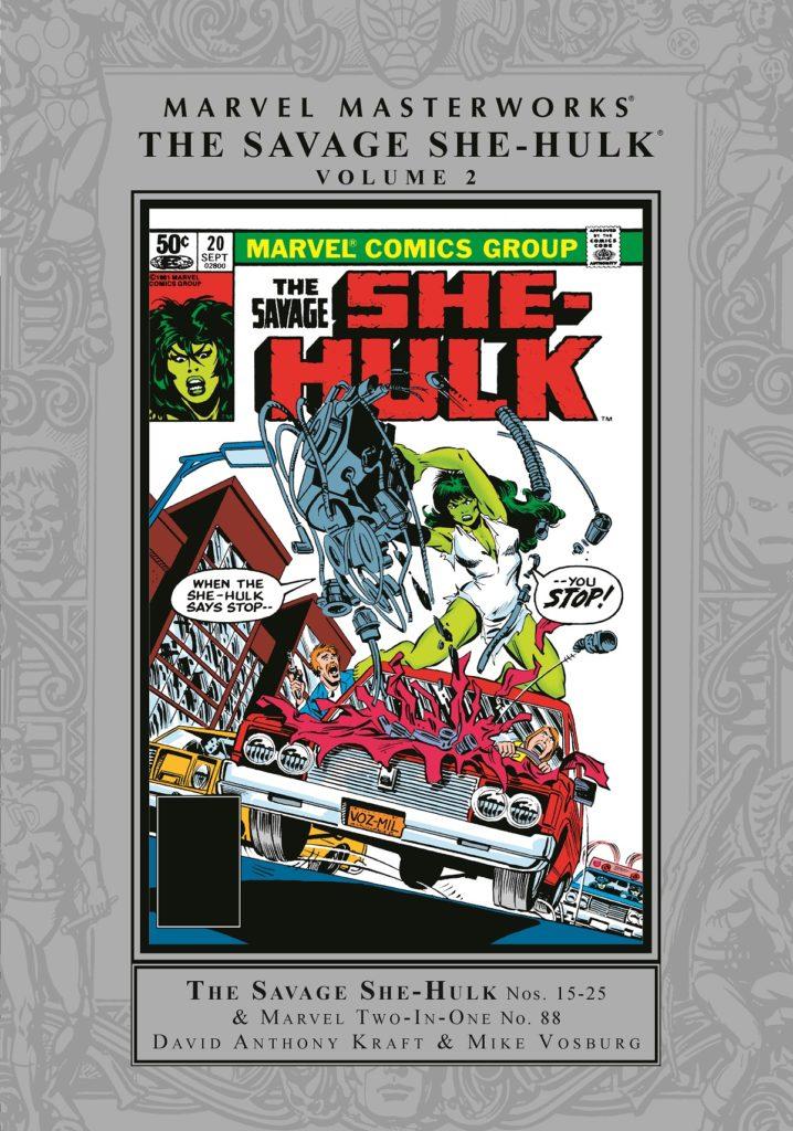 Marvel Masterworks: The Savage She-Hulk Volume 2