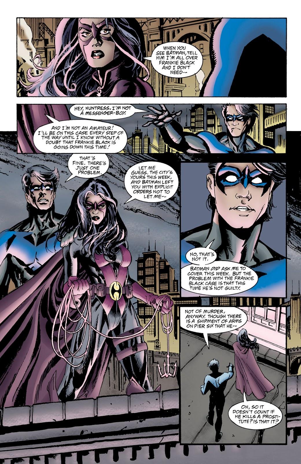 Nightwing Huntress review