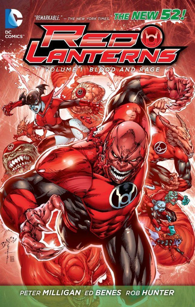 Red Lanterns Vol. 1: Blood and Rage