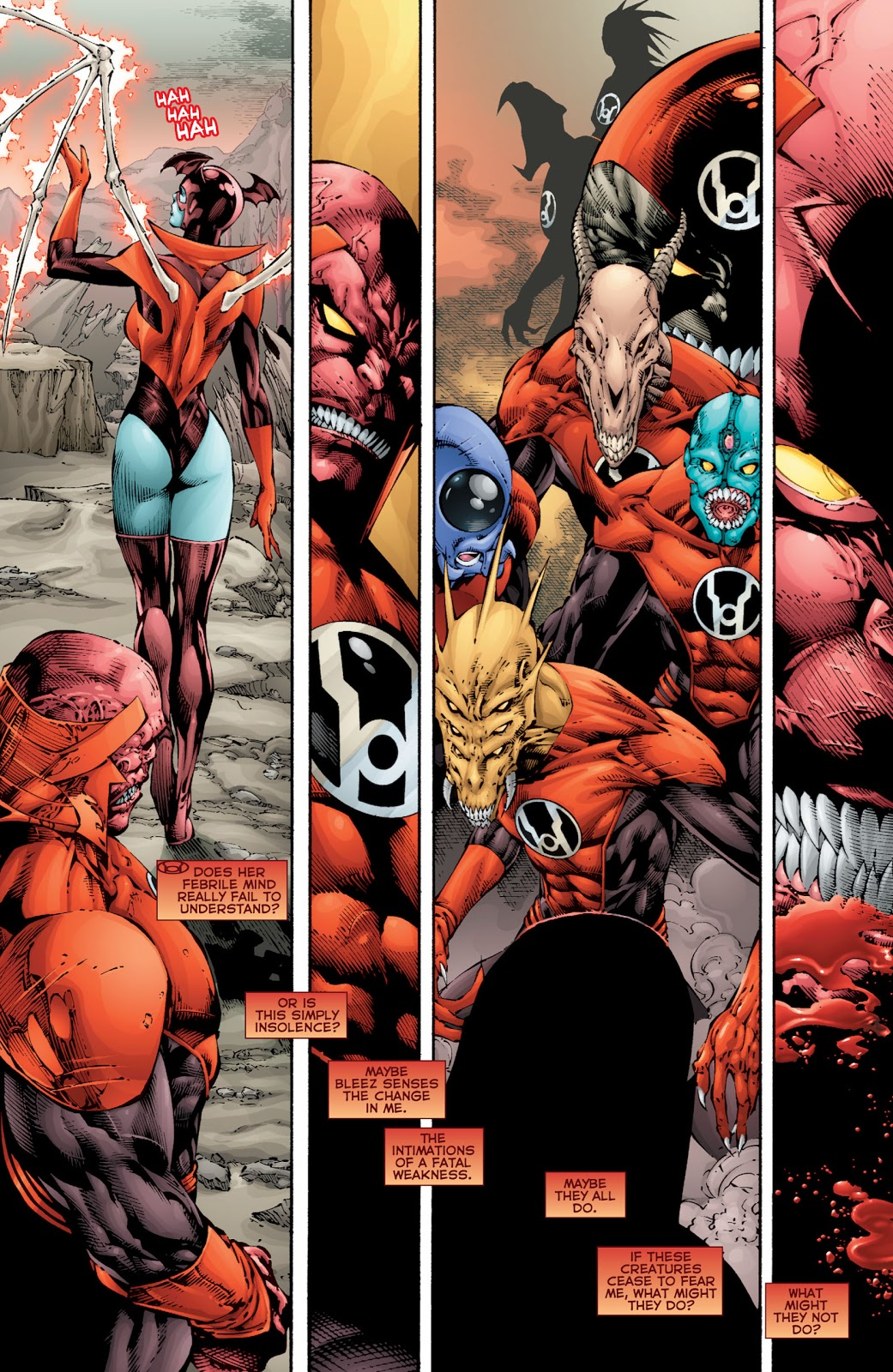 Red Lanterns V1 Blood and Rage review