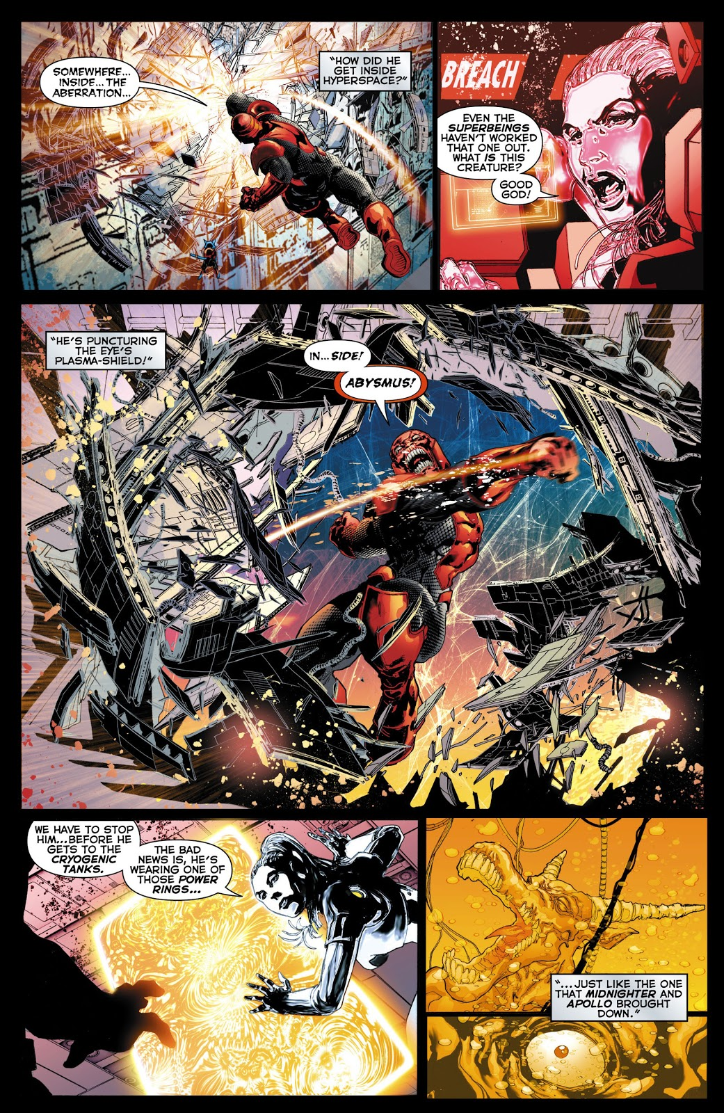 Red Lanterns V2 Death of the Red Lanterns review