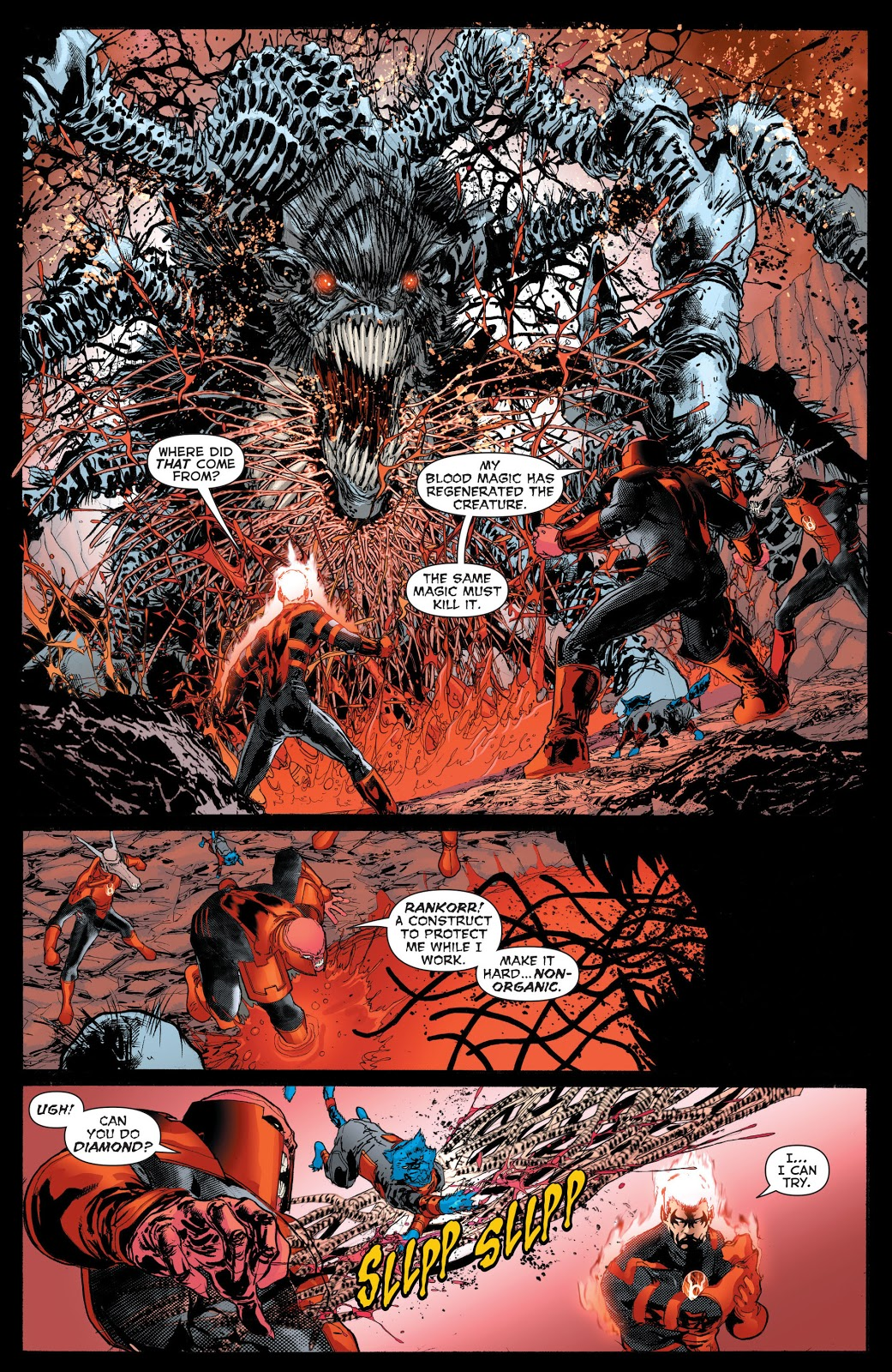 Red Lanterns V3 The Second Prophecy review