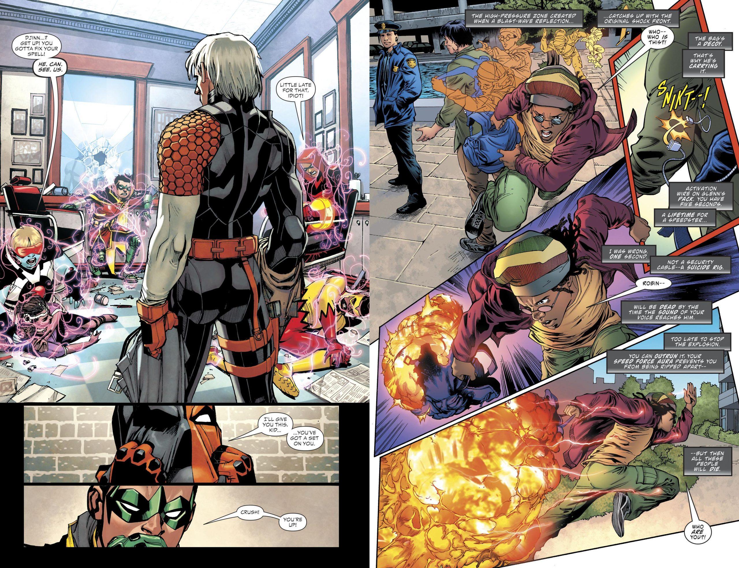 Teen Titans Deathstroke the Terminus Agenda review