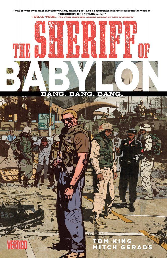 The Sheriff of Babylon: Bang. Bang. Bang.