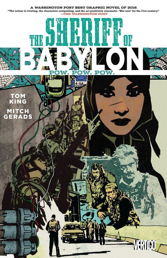 The Sheriff of Babylon: Pow. Pow. Pow.
