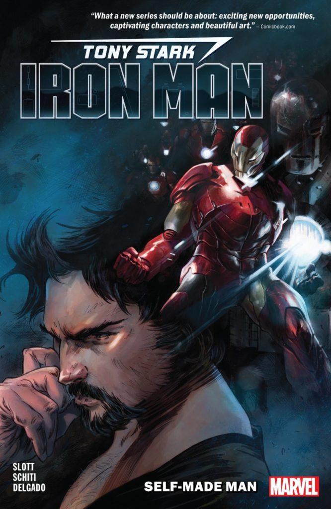 Tony Stark, Iron Man: Self-Made Man