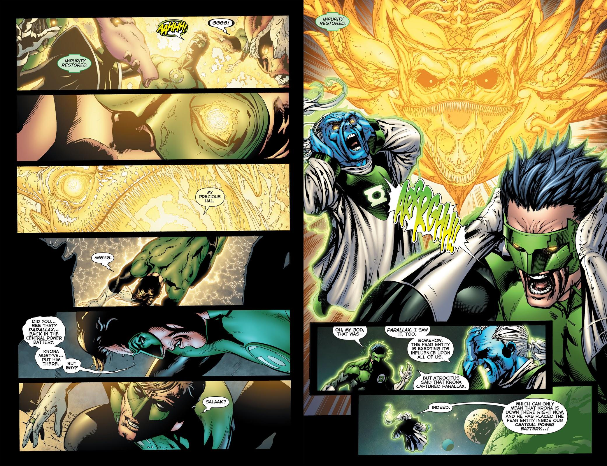 War of the Green Lanterns review