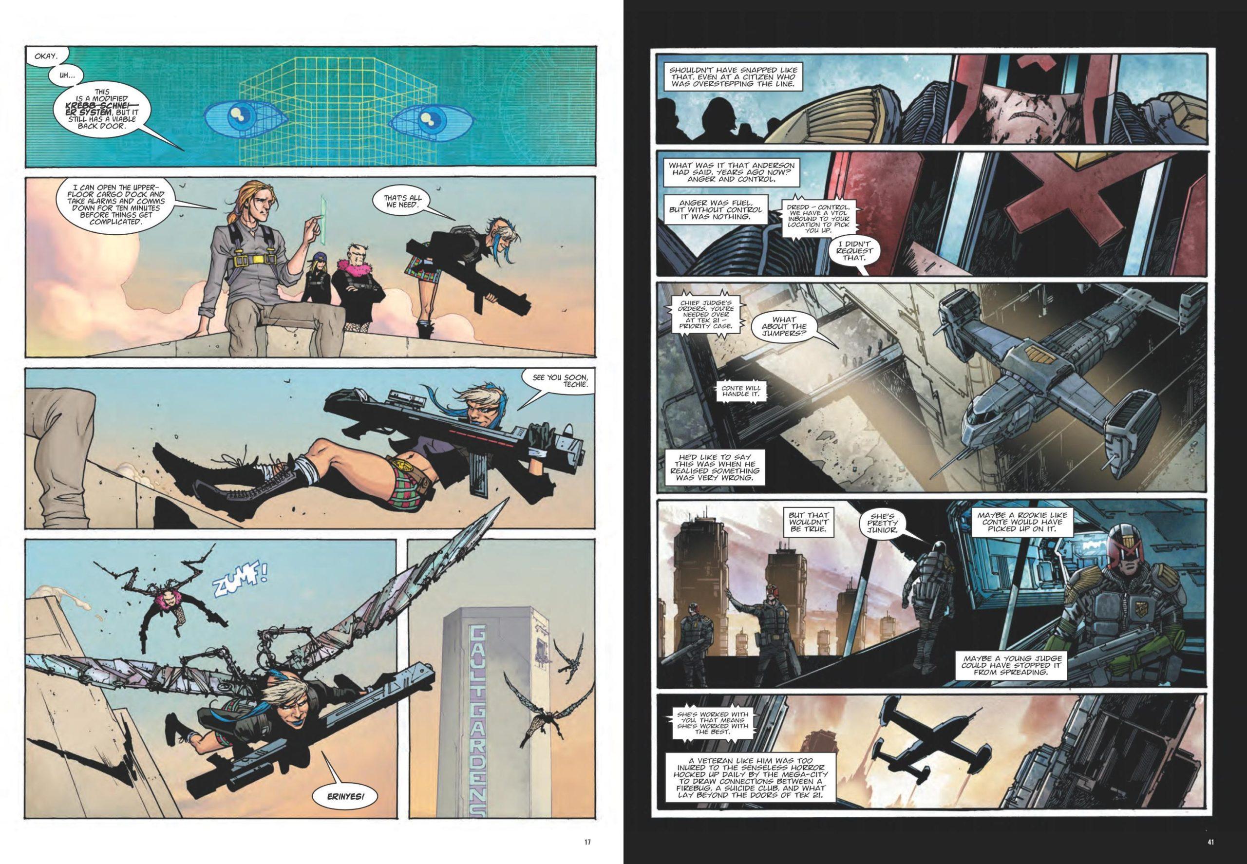 Dredd Final Judgement review