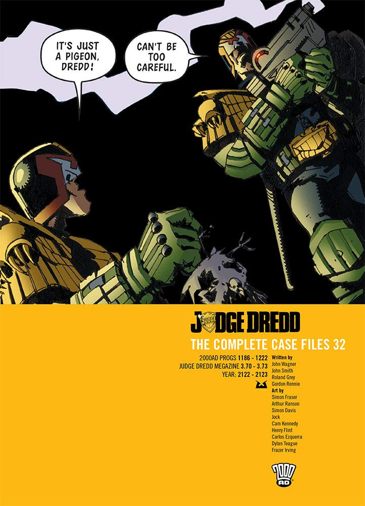 Judge Dredd: The Complete Case Files 32