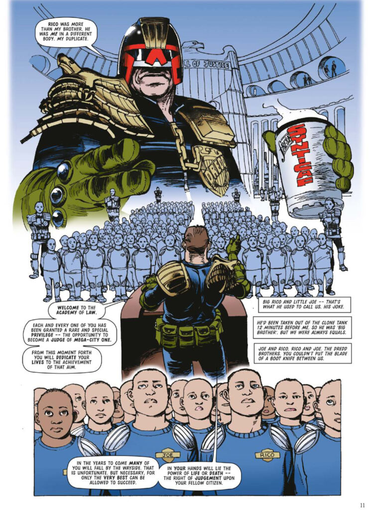 Dredd Case Files 32 review