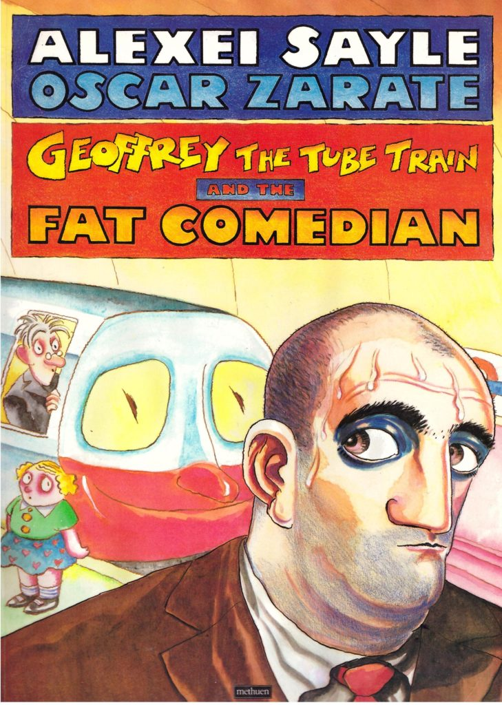 Geoffrey the Tube Train and the Fat Comedian