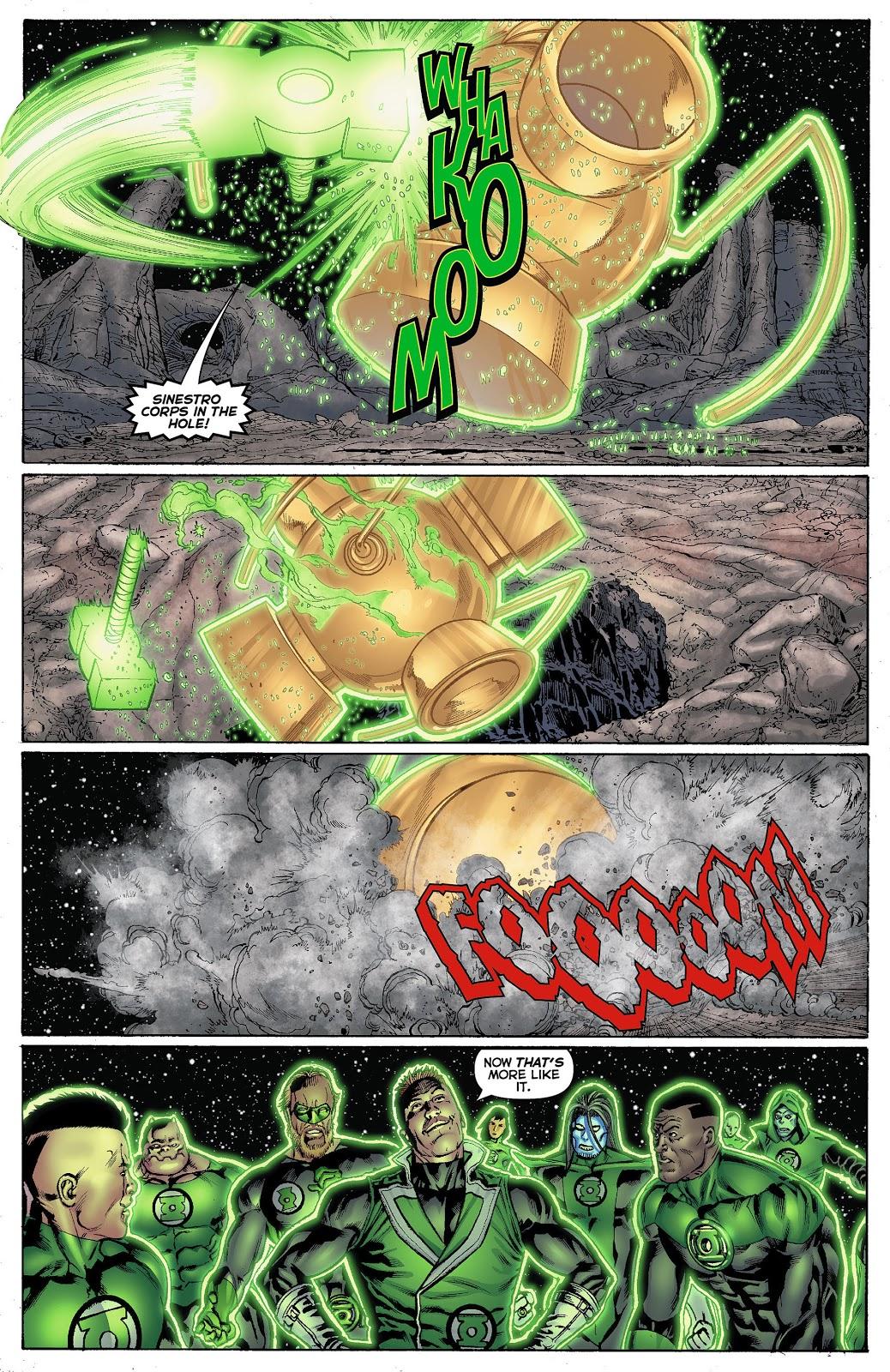 Green Lantern Corps Alpha War review