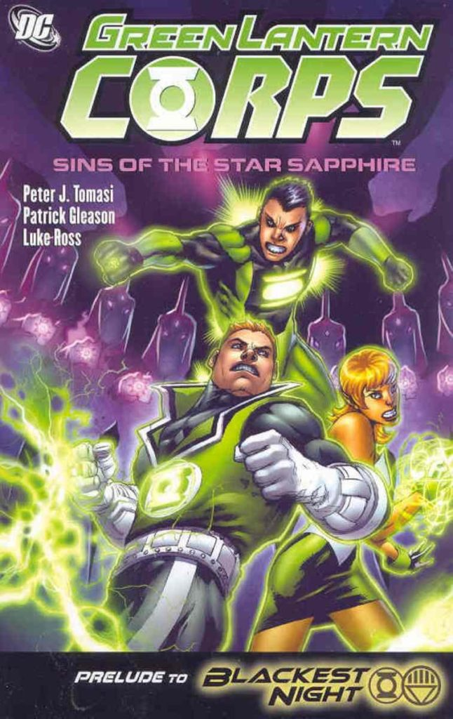 Green Lantern Corps: Sins of the Star Sapphires