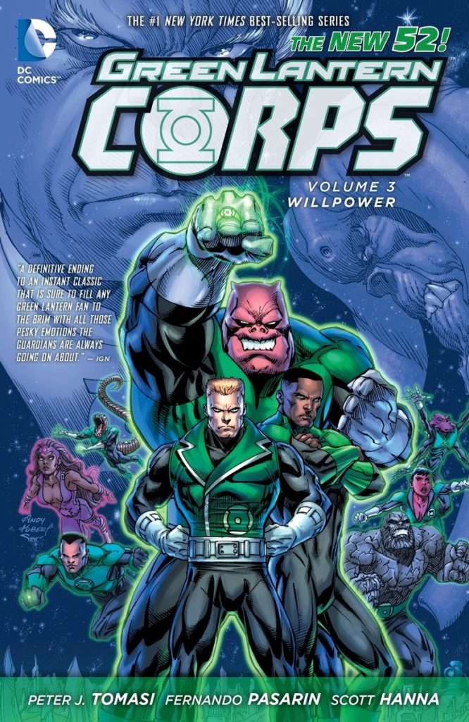 Green Lantern Corps: Willpower