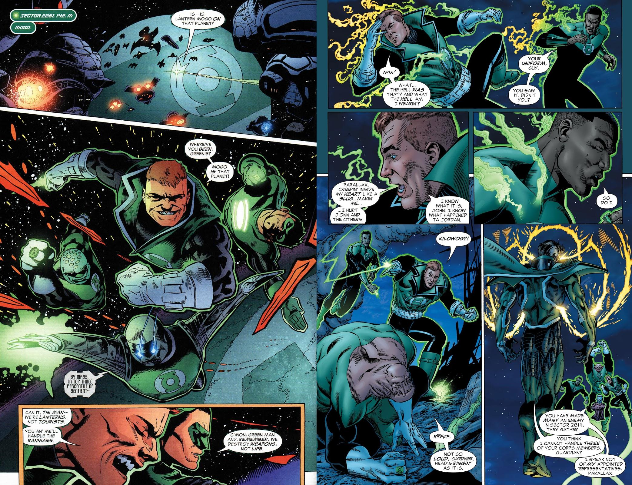 Green Lantern by Geoff Johns Book One review