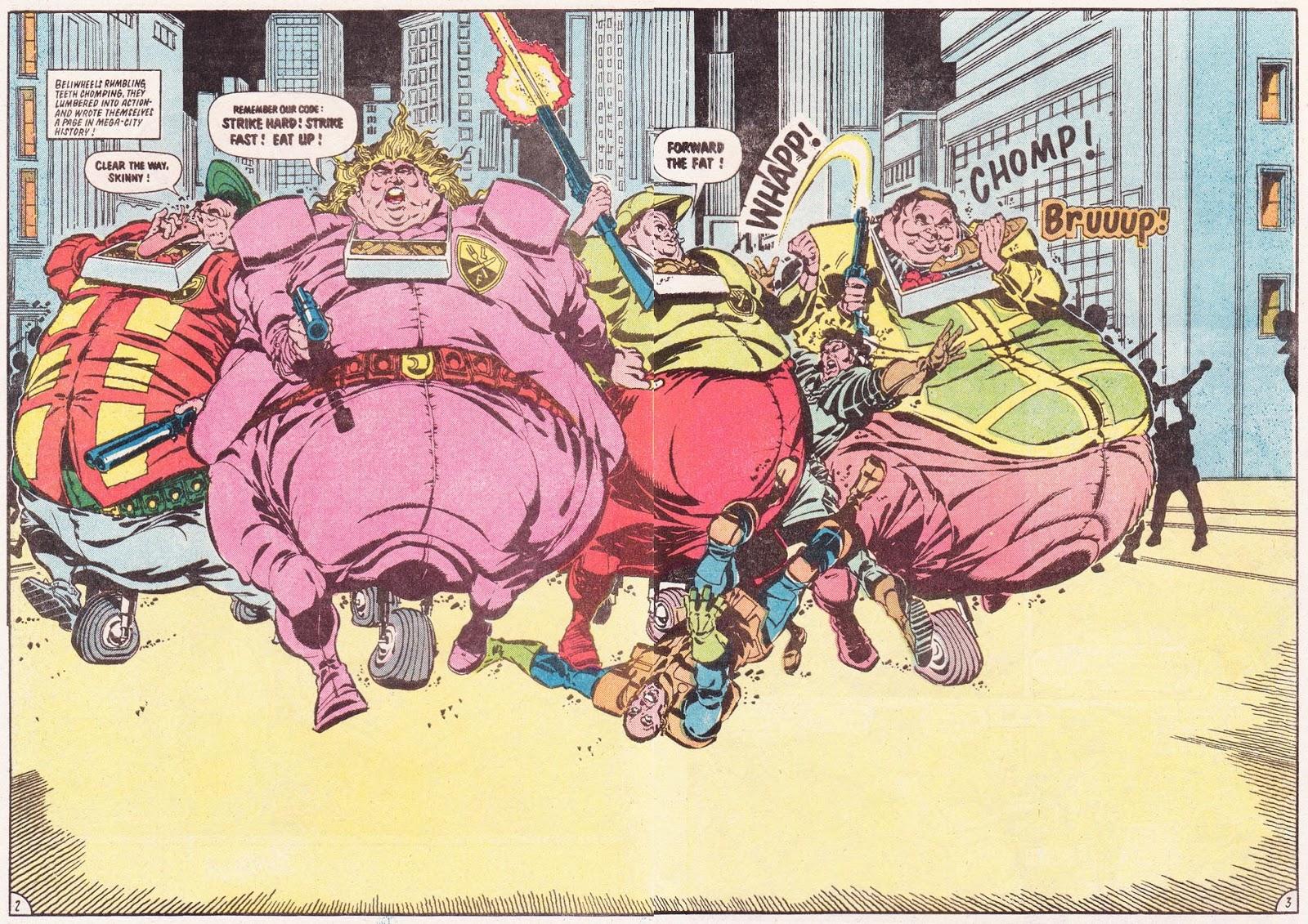 Judge Dredd Fatties review