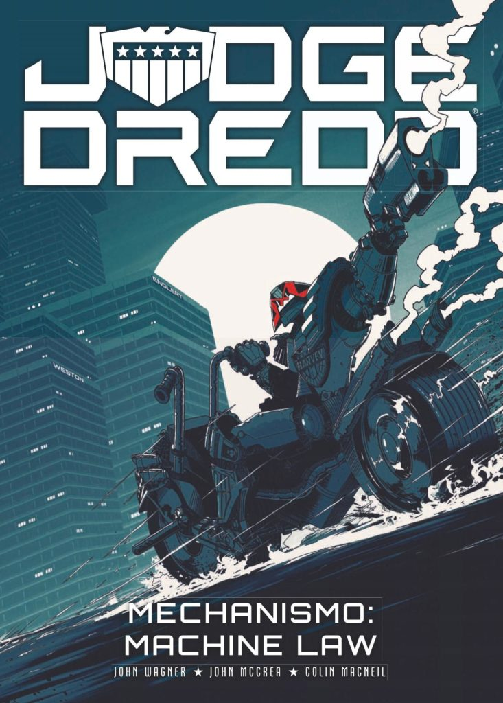 Judge Dredd: Mechanismo Machine Law
