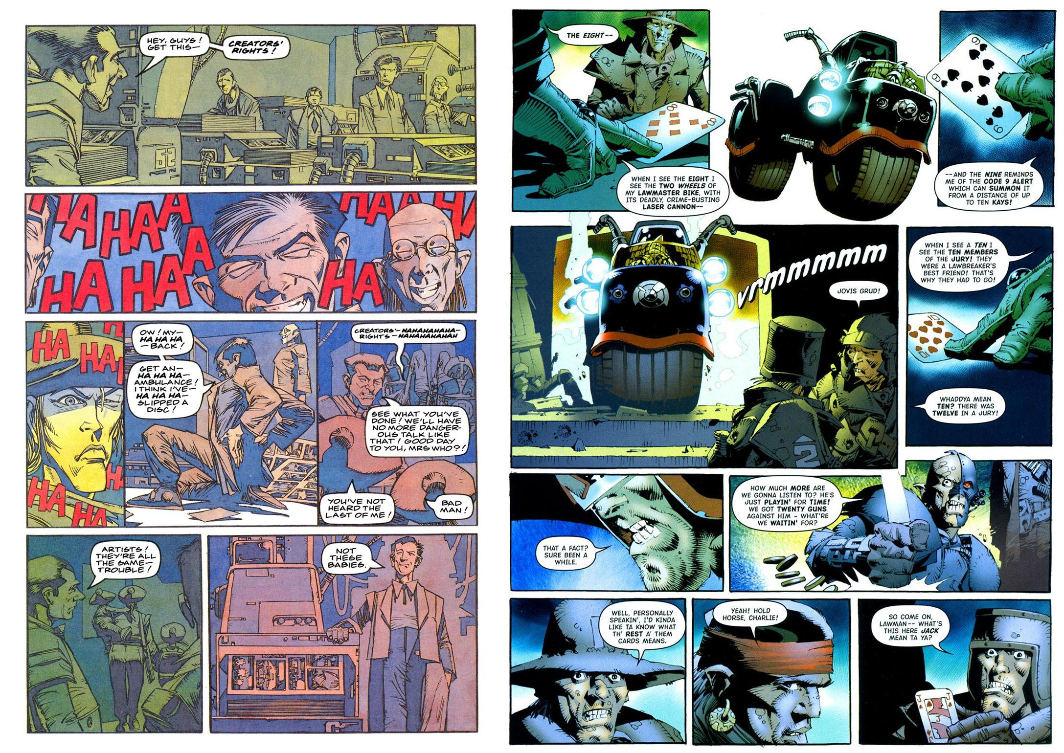 Judge Dredd The Art of Kenny Who review